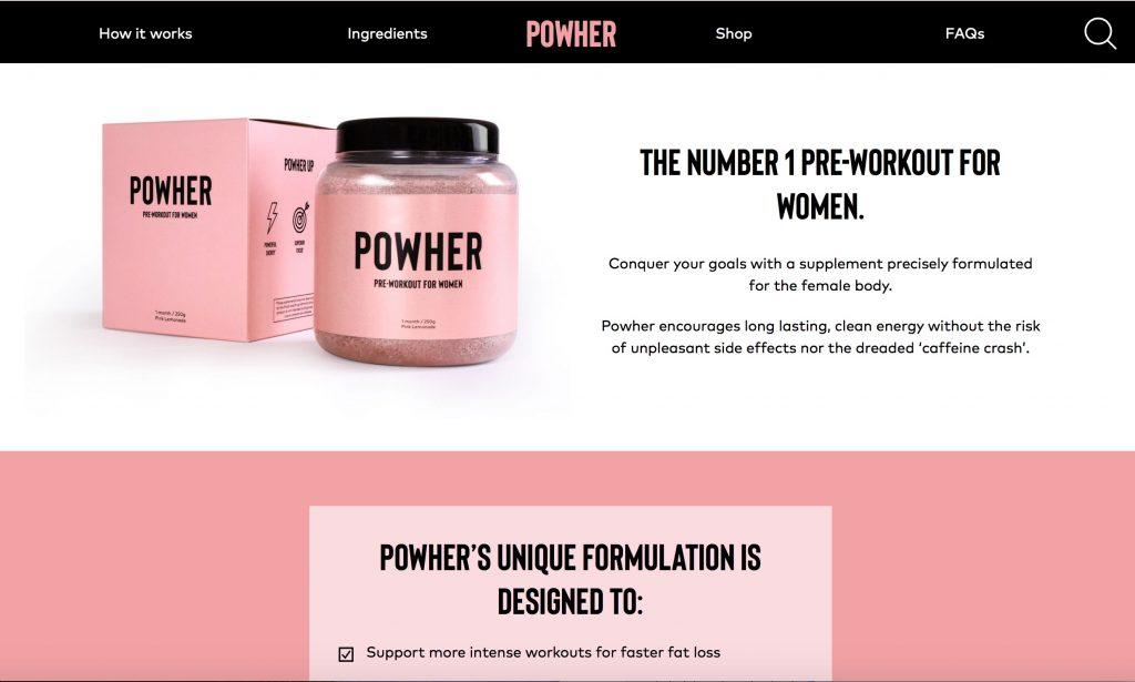 POWHER Official Website UK
